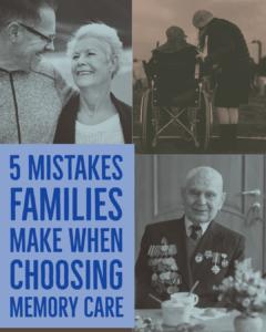 Memory Care, Alzheimers Care, Senior Living Options